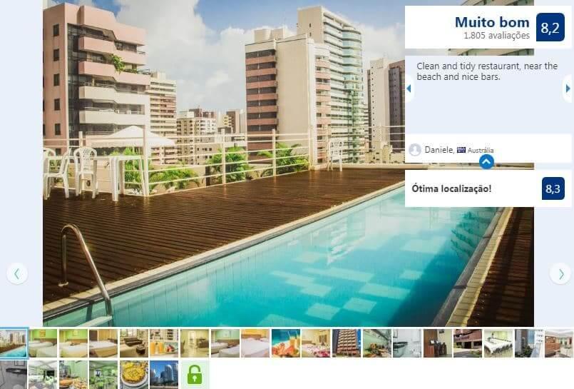 Hotéis bons e baratos em Fortaleza: Adaba Mistral