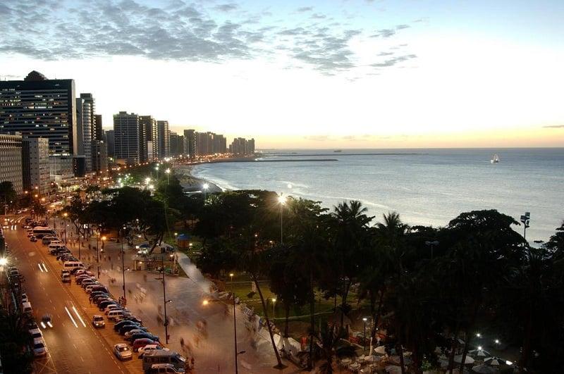 Onde ficar em Fortaleza: Avenida Beira-Mar