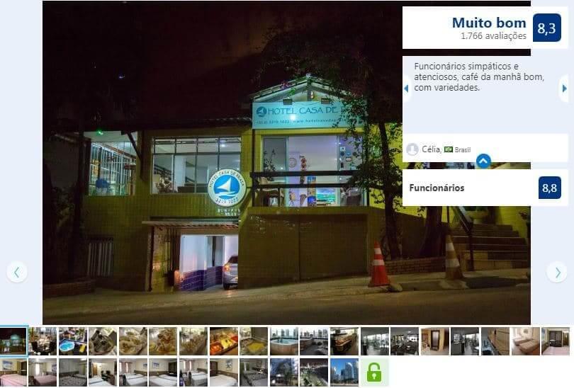 Hotéis no centro turístico em Fortaleza: Casa de Praia