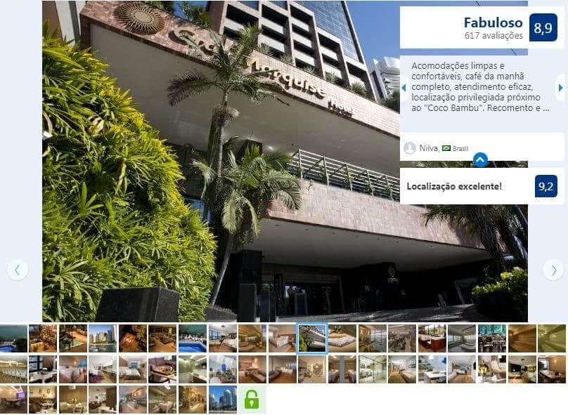 Hotéis no centro turístico em Fortaleza: Gran Marquise