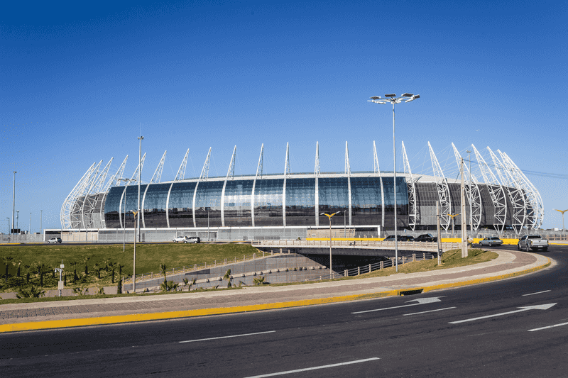 Pontos turísticos em Fortaleza: Arena Castelão