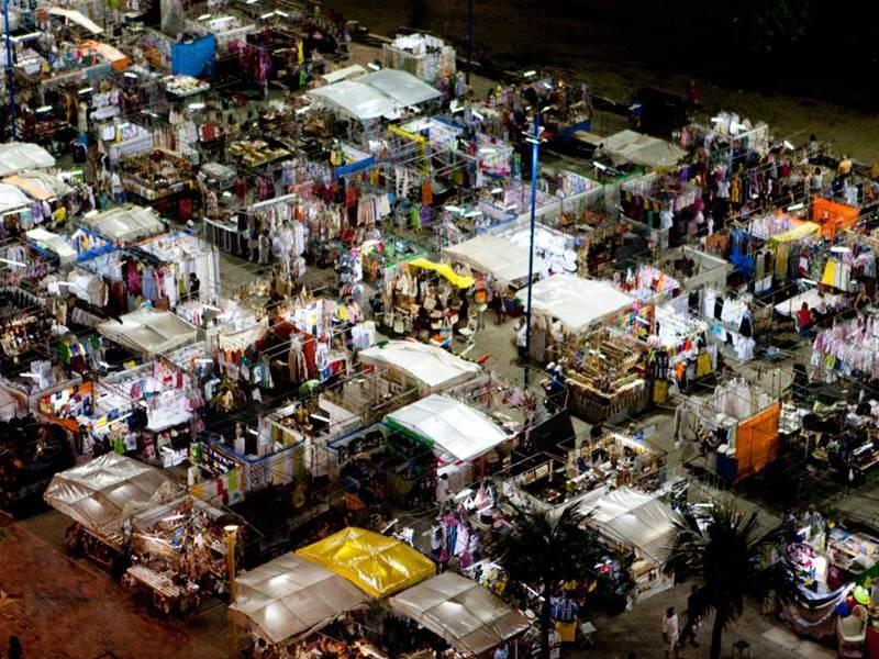 O que fazer a noite em Fortaleza: Feirinha