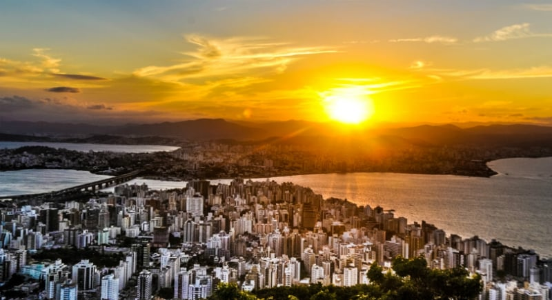 Passeios em Florianópolis: Mirante Morro da Cruz