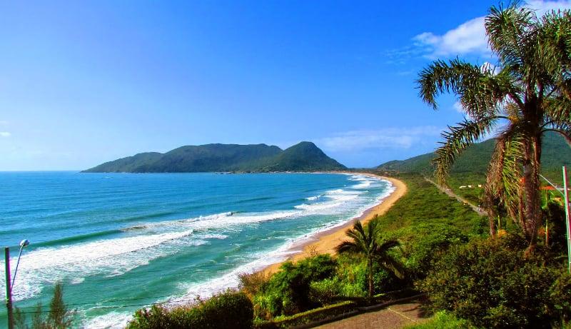 Ficar hospedado em Florianópolis: Praia Morro das Pedras