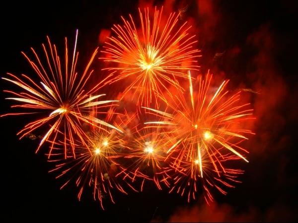 Ano novo em Fortaleza: Fogos
