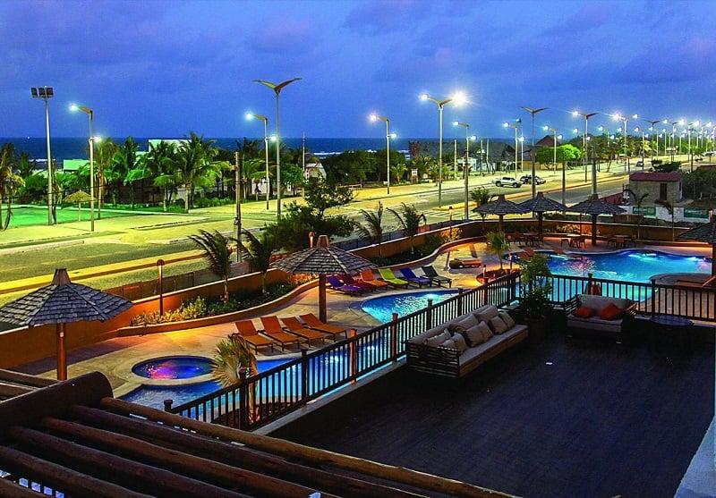 Hotéis no centro turístico em Fortaleza: Entardecer