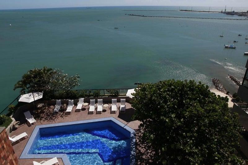 Ano novo em Fortaleza: Hotel
