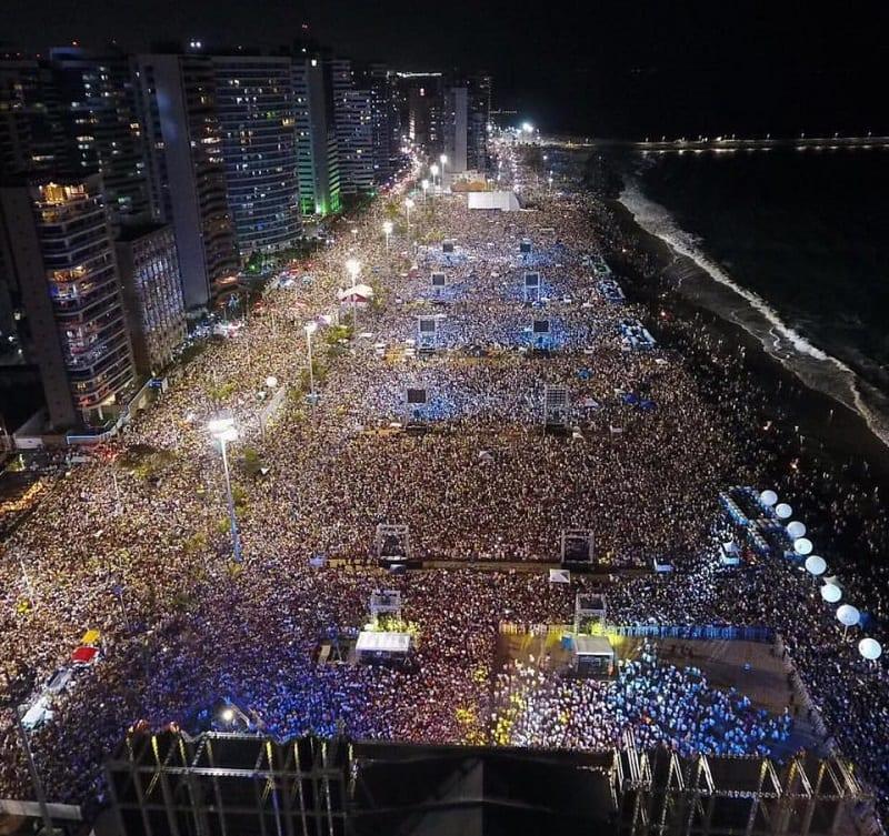 Ano novo em Fortaleza: Iracema