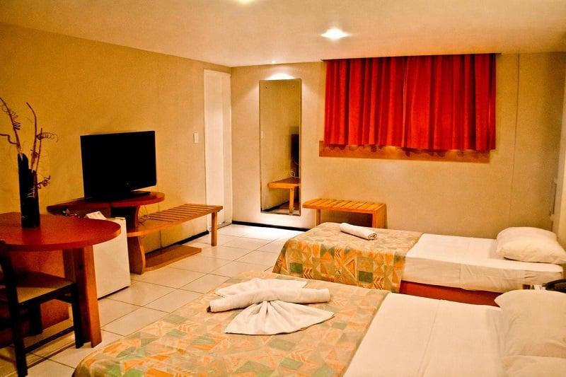 Hotéis no centro turístico em Fortaleza: Meridional
