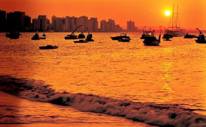 Passeios em Fortaleza: Pôr do Sol
