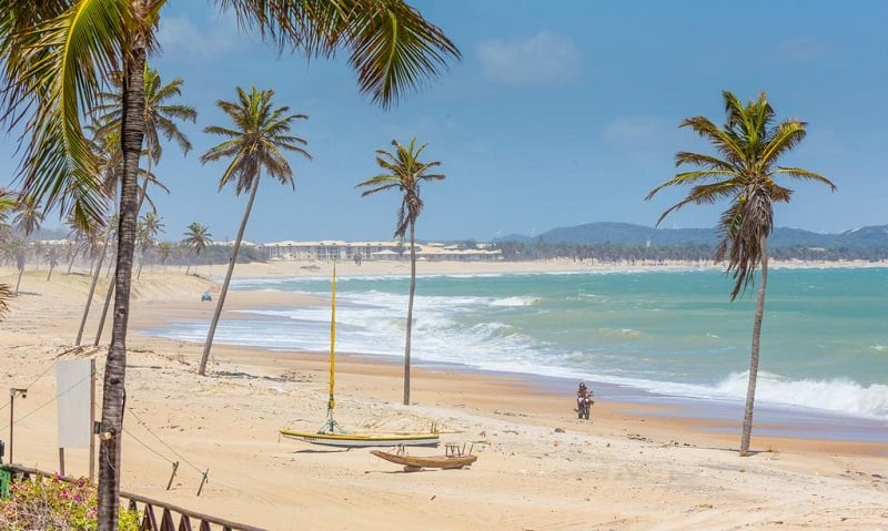 Melhores praias nos arredores de Fortaleza: Cumbuco