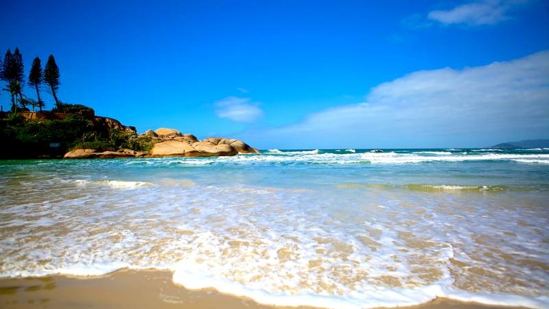 Ficar hospedado em Florianópolis: Praia da Joaquina