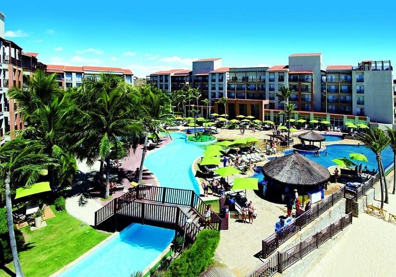 Onde se hospedar no Beach Park em Fortaleza: Aqua Resort