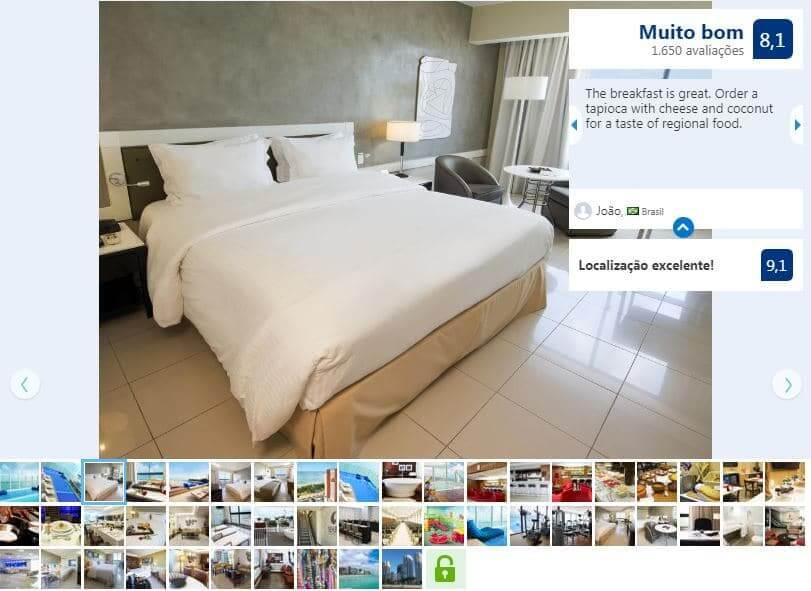 Hotéis no centro turístico em Fortaleza: Seara Hotel