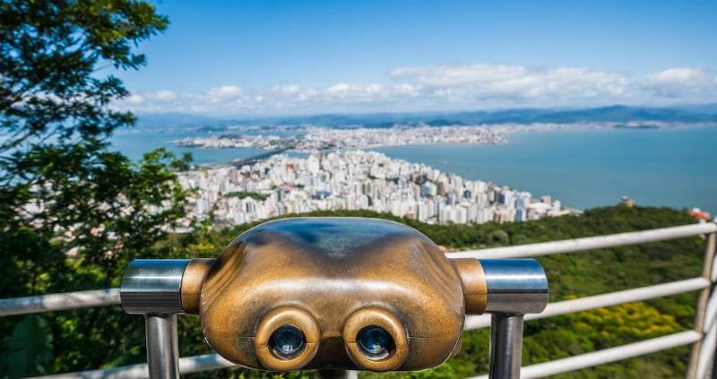 O que fazer em Florianópolis: Mirantes