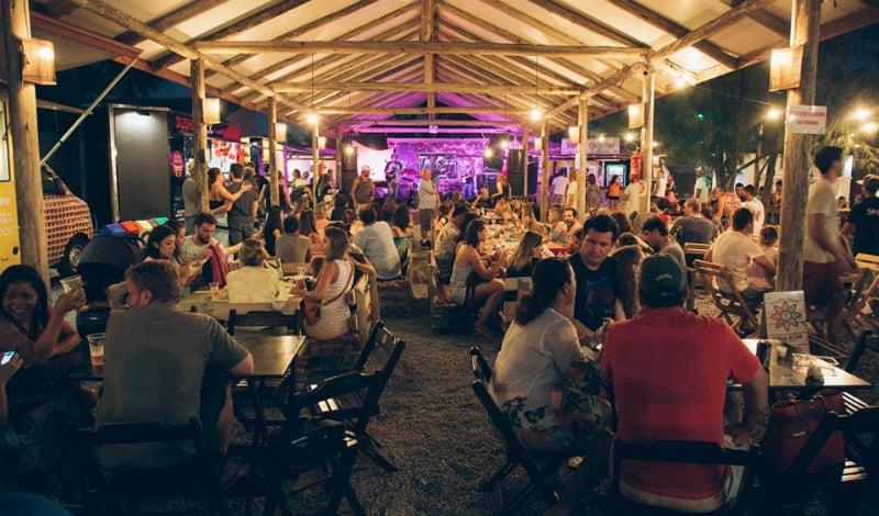 O que fazer à noite em Florianópolis: Quintal de Casa