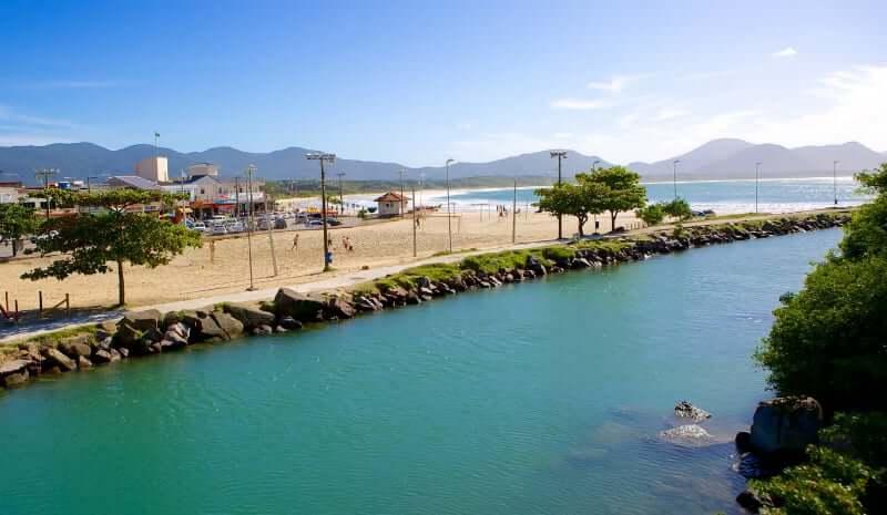Praias do leste de Florianópolis: Praia da Barra da Lagoa