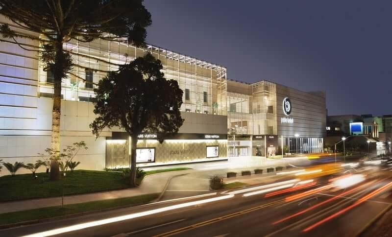 Shoppings em Curitiba: Batel