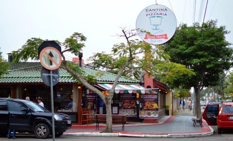 Roteiro de 3 dias em Florianópolis: Cantina Santa Maria