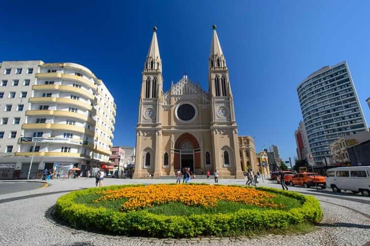Pontos turísticos em Curitiba: Catedral