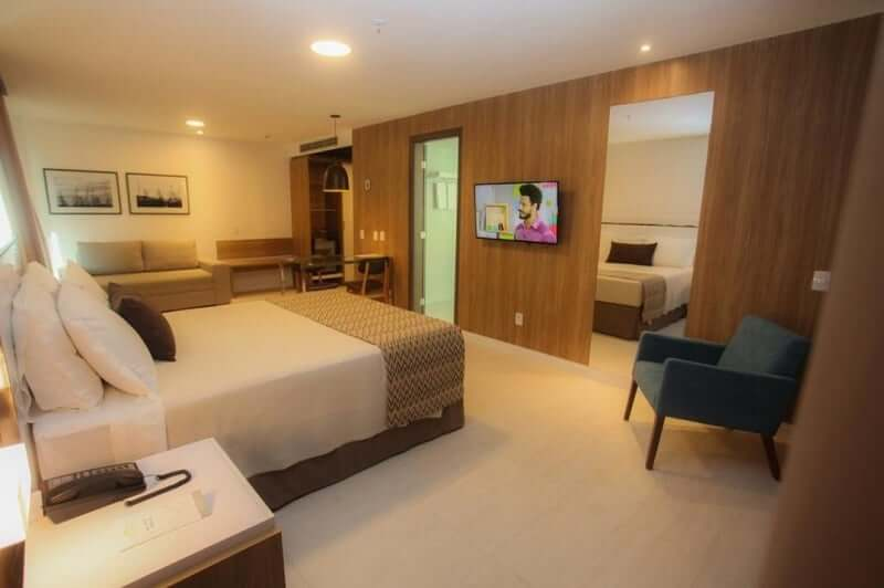 Hotéis bons e baratos na Praia do Futuro em Fortaleza: Gran Mareiro