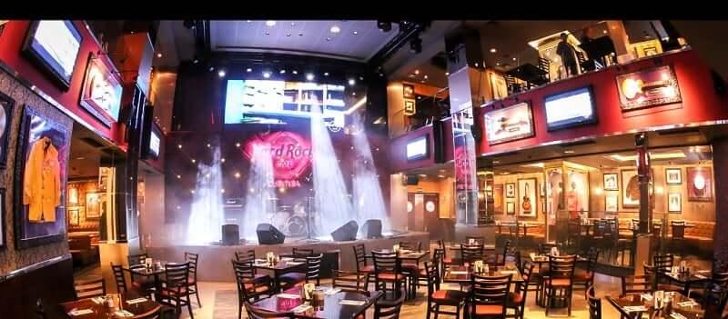O que fazer à noite em Fortaleza: Hard Rock Cafe