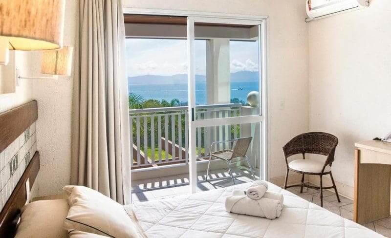 Dicas de hotéis em Florianópolis: Quarto do Hotel Torres da Cachoeira
