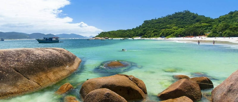 Melhores praias em Florianópolis: Ilha do Campeche