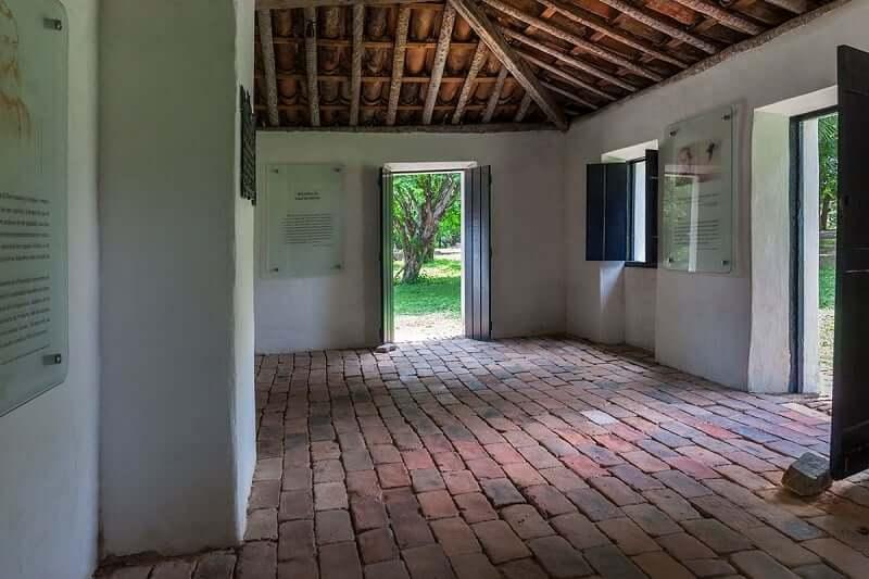 Casa de José de Alencar em Fortaleza: Interior