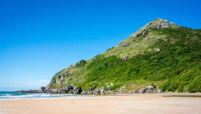 Praia da Lagoinha do Leste em Florianópolis: Praia