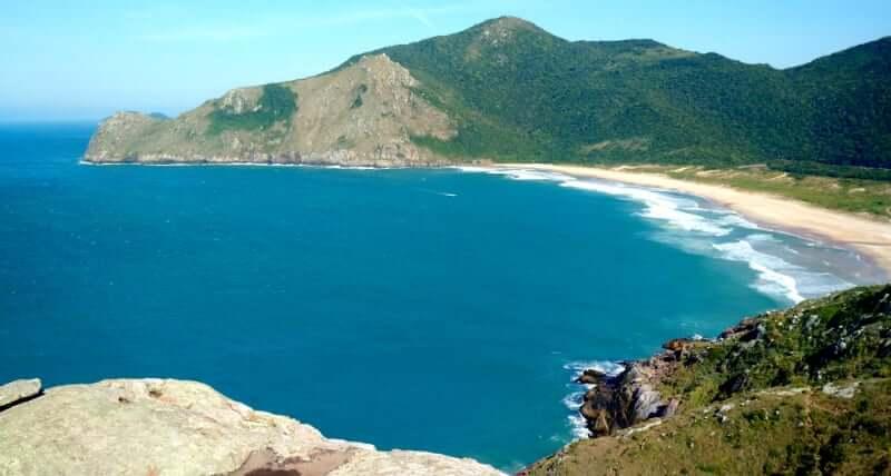 Praia da Lagoinha do Leste em Florianópolis: Trilhas