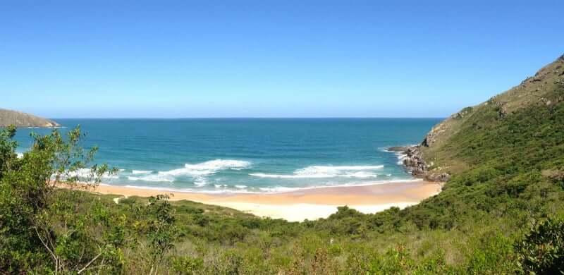Praia da Lagoinha do Leste em Florianópolis: Mar