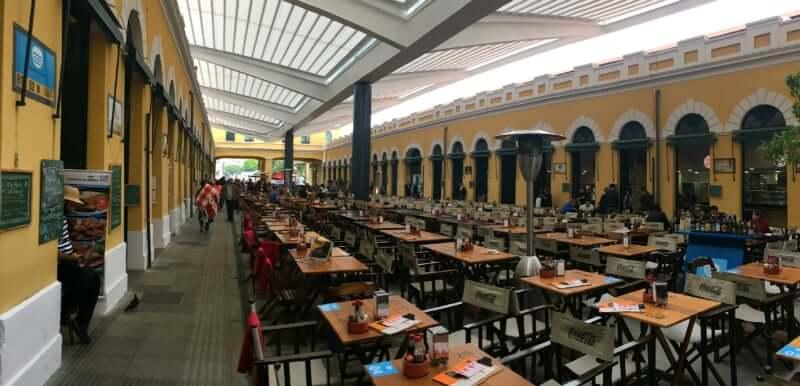Mercado Público de Florianópolis: Área Interna