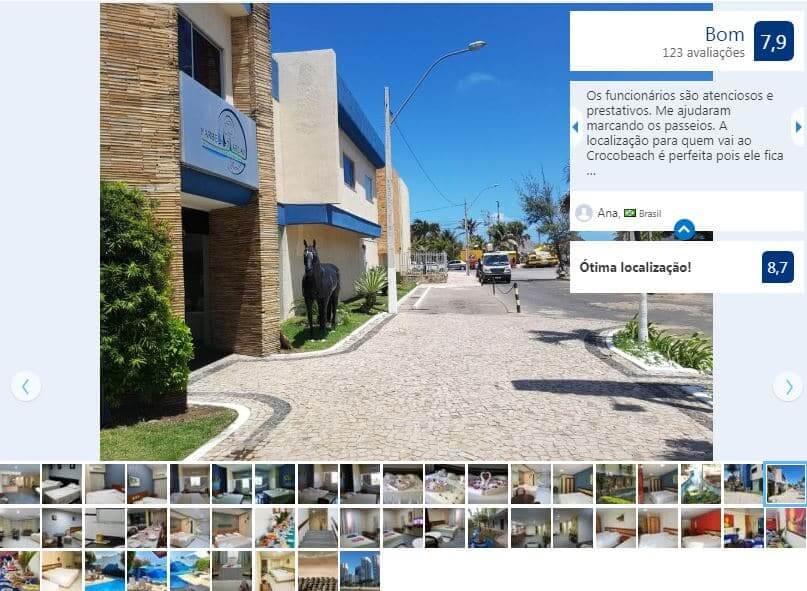 Hotéis bons e baratos na Praia do Futuro em Fortaleza: Marbello