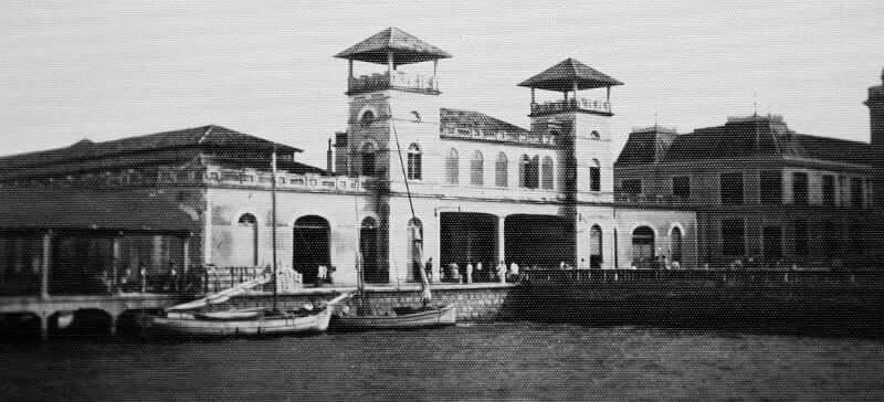 Mercado Público de Florianópolis: Mercado Público em 1899