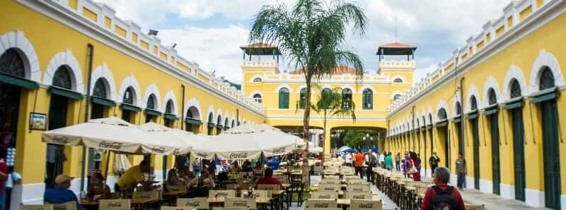 Mapa Turístico de Florianópolis: Mercado Público de Florianópolis