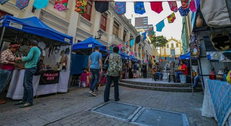 Mercado Público de Florianópolis: Feira Pública