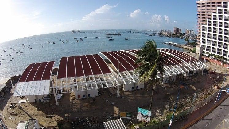 Praia do Mucuripe em Fortaleza: Mercado dos Peixes