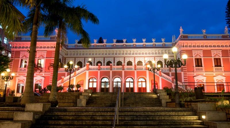 Museus em Florianópolis: Museu Histórico de Santa Catarina - Palácio Cruz e Sousa
