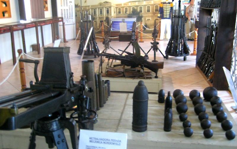 Museus em Florianópolis: Museu de Armas Major Lara Ribas