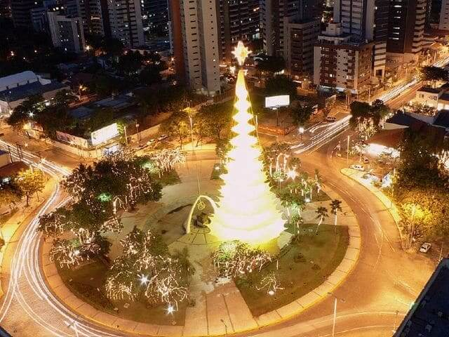 Natal em Fortaleza: Praça Portugal