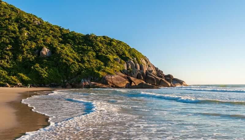 Praias do norte em Florianópolis: Praia Brava em Florianópolis