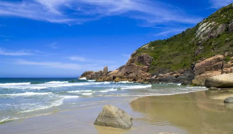 Praia Mole em Florianópolis: Praia Gravatá