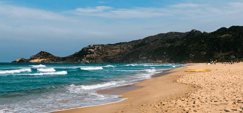 Melhores praias em Florianópolis: Praia Mole