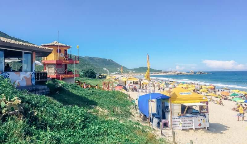 Praia Mole em Florianópolis: Restaurantes