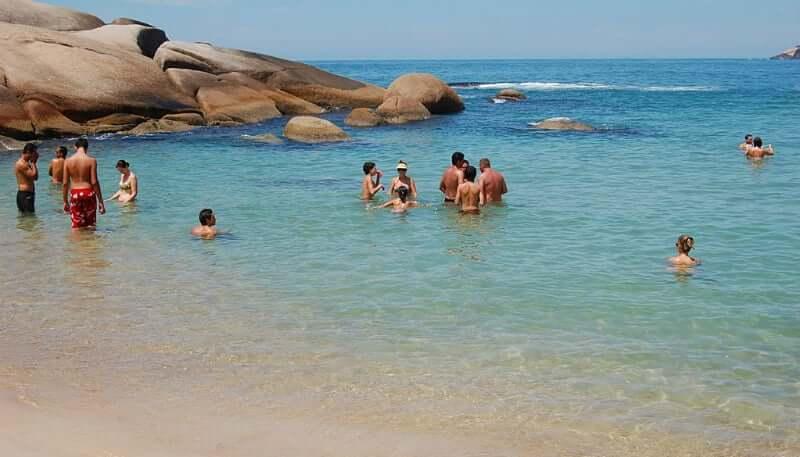 Praia Mole em Florianópolis: Piscina Natural