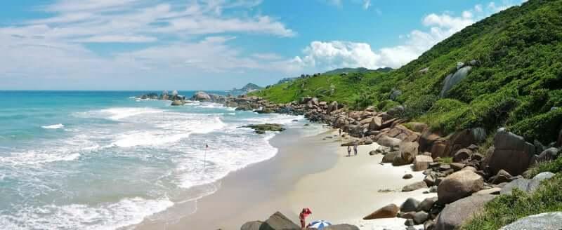 Melhores praias em Florianópolis: Praia da Galheta