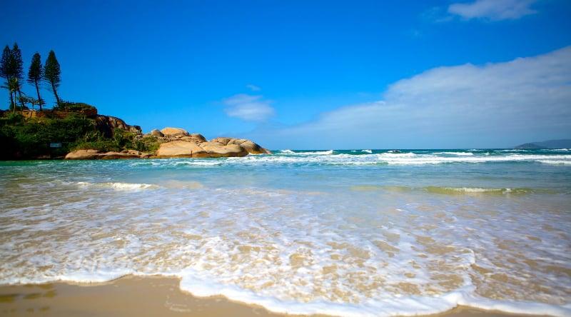 Praia da Joaquina em Florianópolis: Mar