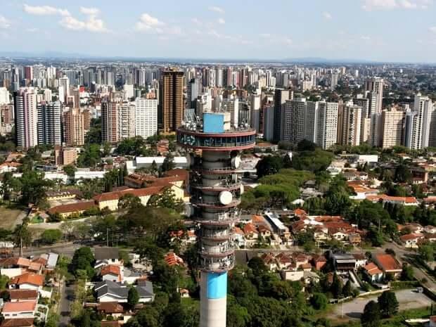 Pontos turísticos em Curitiba: Torre Panorâmica