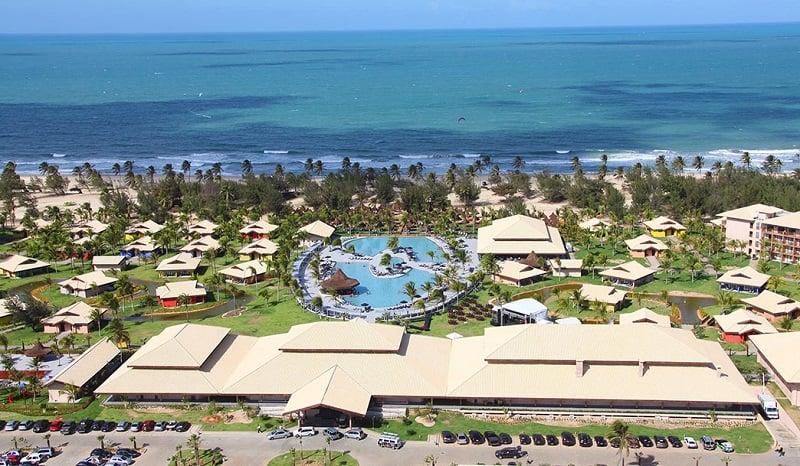 Praia do Cumbuco nos arredores de Fortaleza: Vila Galé